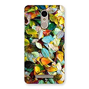 Colorfull Leafs Back Case Cover for Xiaomi Redmi Note 3