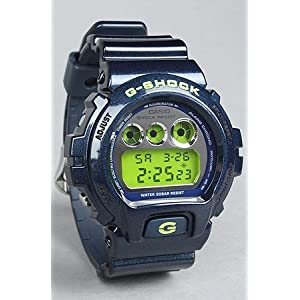 G-SHOCK The Mirror Metallic 6900 Watch in Navy (Limited Edition),Watches for Unisex