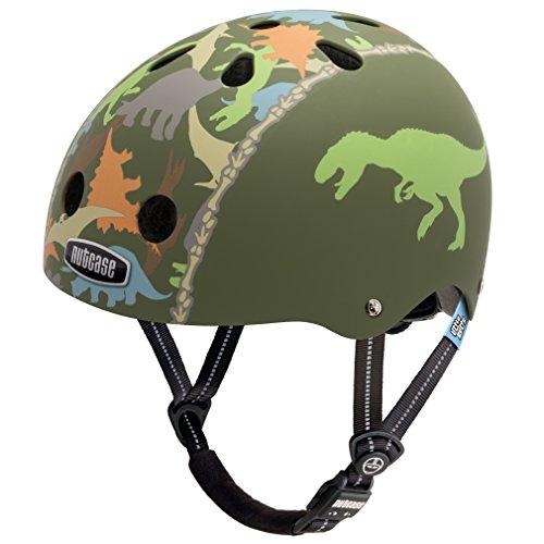 Nutcase Little Nutty Dino-Mite Matte Street Bike Helmet