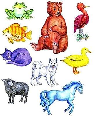 Animal Tales Brown Bear Felt Figures for Flannel Board Stories- Precut