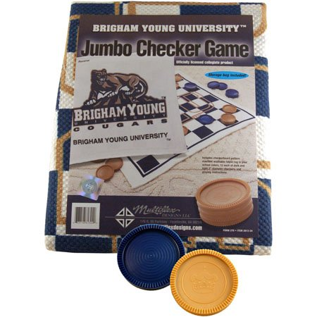 Checkers Rug Brigham Young