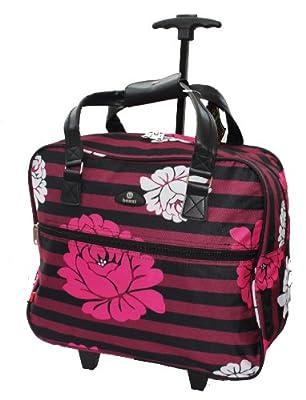 Wheeled Bag 42x40x20cm Travel Holdall Hand Luggage Flight Cabin On board EasyJet Guarantee Ryanair Cabin Luggage on Wheels