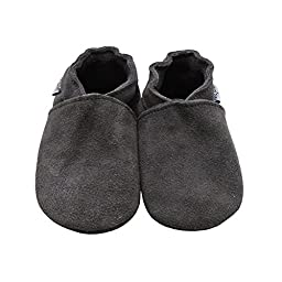 Mejale Baby Soft Soled Leather Moccasins Infant Toddler Shoes Pre-walker