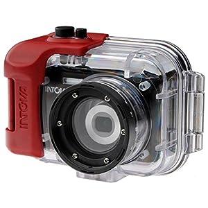 Intova IC16 Sports Digital Camera with 180' Waterproof Housing (Black) [Camer