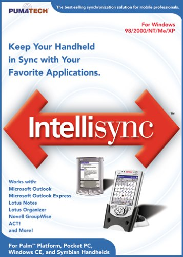 PumaTech Intellisync 5.1 - DVD Case