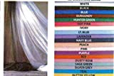 White Sheer Tulle Decorating Material 54in X 100ft