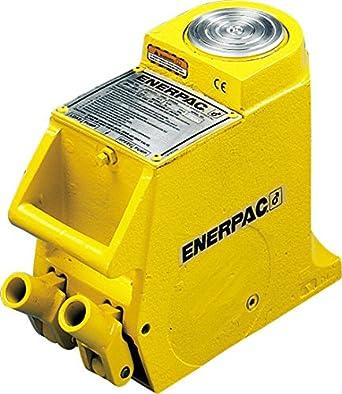 "Enerpac JHA-356 Aluminum Hydraulic Hand Jack with 35-Ton Capacity, 6.13"" Stroke Length"