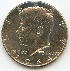 Amazon.com: 1964-D Kennedy Half Dollar: Toys & Games