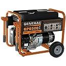 Generac 5940 GP6500 6,500 Watt 389cc OHV Portable Gas Powered Generator