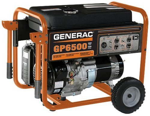 Generac 5976 Gp6500 6,500 Watt 389Cc Ohv Portable Gas Powered Generator (Csa Approved)