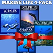 Marine Life 4-Pack: Amazing Pictures & Fun Facts on Animals in Nature (Our Amazing World Series)