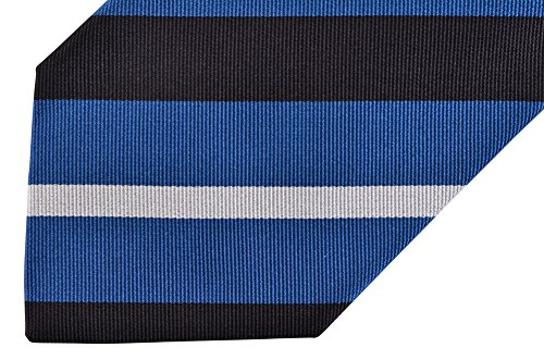 E. Marinella Krawatte Gestreift Blau Seide