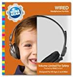 Kidz Gear Wired Headphones For Kids - Gray