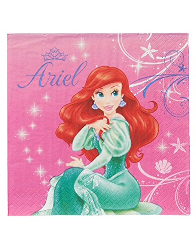 American Greetings The Little Mermaid Lunch Napkins (16 Count)