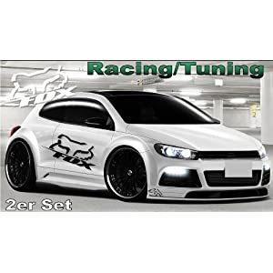 Auto Racing Sponsors on Tuning Racing Sponsor Autoaufkleber Aufkleber Sticker  30 Farben