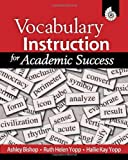 img - for Vocabulary Instruction for Academic Success book / textbook / text book