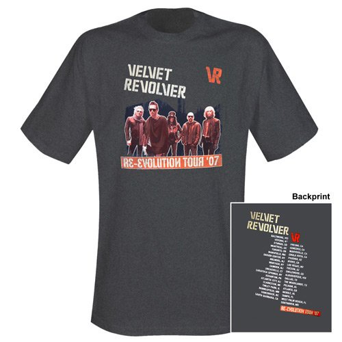 Velvet Revolver - T-Shirt Re-Evolution (in XL)