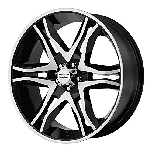 American Racing AR893 Mainline Black Machined Wheel (20x8.5