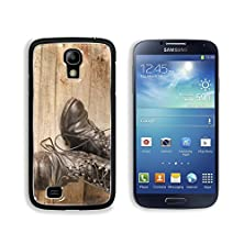 buy Msd Samsung Galaxy S4 Aluminum Plate Bumper Snap Case Old Military Shoes On Vintage Wooden Boards Abstract Background Image 21409717
