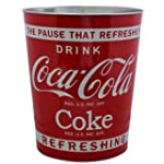 Retro Coca Cola Waste Dust Bin Red Cl...