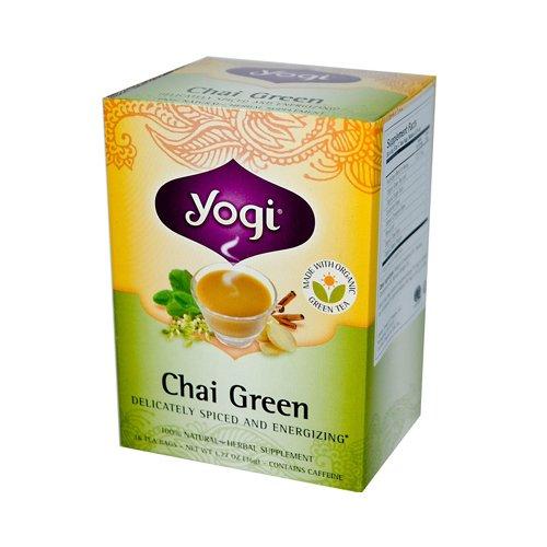 Yogi Natural Herbal Tea Chai Green