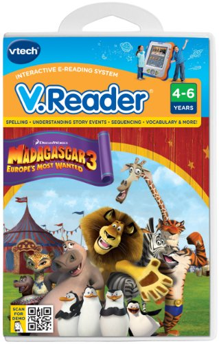 VTech V.Reader Cartridge - Madagascar 3