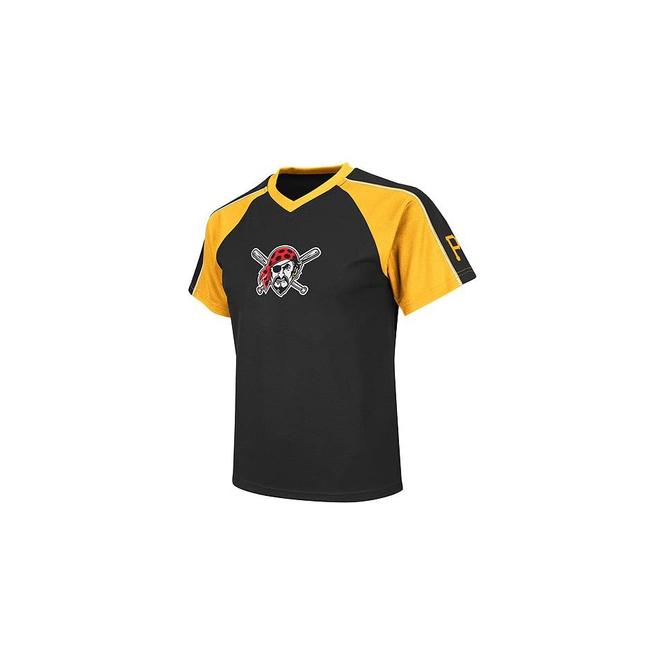 f70281d8 Pittsburgh Pirates Youth Jetstream V Neck Jersey by Majestic ...