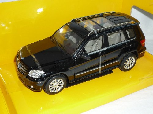 Mercedes-Benz Glk Suv Schwarz 1/24 Rastar Modellauto Modell Auto