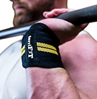 Wrist Wraps by terriFIT (Heavy Duty)…