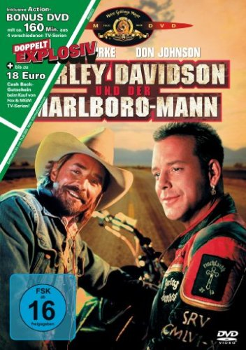 Harley Davidson und der Marlboro-Mann (+ Bonus DVD TV-Serien)