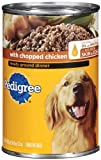 PEDIGREE Meaty Ground Dinner With Chopped Chicken Wet Dog Food, 22-Ounce (Pack Of 12)