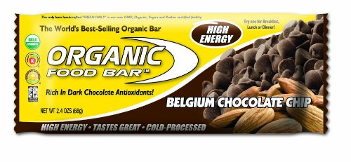 Meal Replacement Bars Organic Food Bar Belgium Chocolate Chip