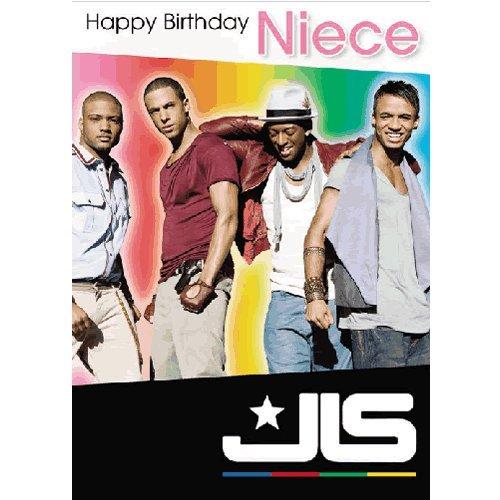 JLS - Niece Birthday Card