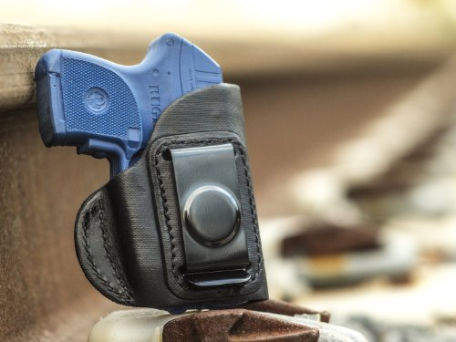 OUTBAGS LOB4S-LCPX Black Genuine Leather IWB Conceal Carry