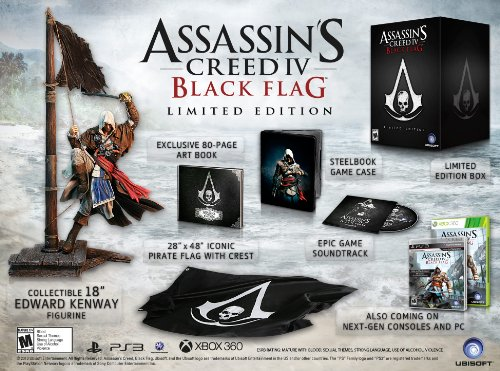 Assassin's Creed IV Black Flag - Limited Edition (PS3)