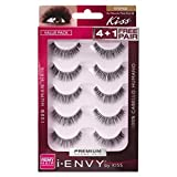 Kiss I Envy Au Naturale 08 Value Pack 4+1 Lashes (6 Pack) (Tamaño: (6 Pack))
