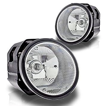 EXPLORER//TRANSIT CONNECT BUMPER FOG LIGHTS LAMP+BULB CHROME 08-12 FORD FOCUS//11