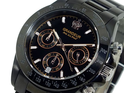 GRANDEUR グランドール クロノグラフ 腕時計 OSC031W5