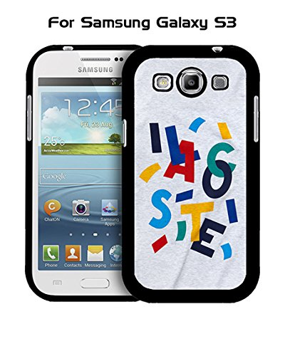 Lacoste Galaxy S3 Custodia Case, Brand Logo Customized Solid Plastic Durable Rugged Anti Dust Fit for Samsung Galaxy S3 i9300