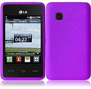 for For Tracfone LG 840G LG840G (Purple): Cell Phones & Accessories