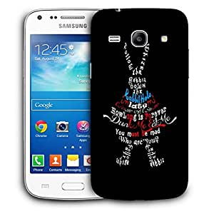 Snoogg Dunk Me Eat Me Designer Protective Back Case Cover For Samsung Galaxy Core Plus