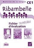 Jean-Pierre Demeulemeester Ribambelle CE1 : Fichier d'évaluation avec 3 romans : Il est bizarre Léonard ; Le plus grand roi du monde ; Une amitié difficile