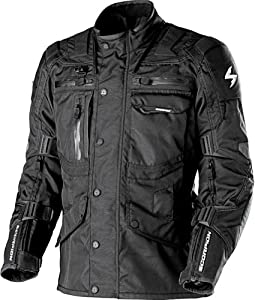 Scorpion XDR Commander Black Motorcycle Jacket - 3X-Large