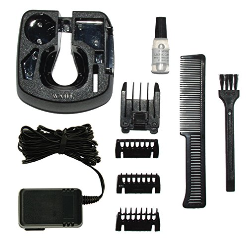 wahl 9916 1008 rechargeable hair beard moustache trimmer. Black Bedroom Furniture Sets. Home Design Ideas