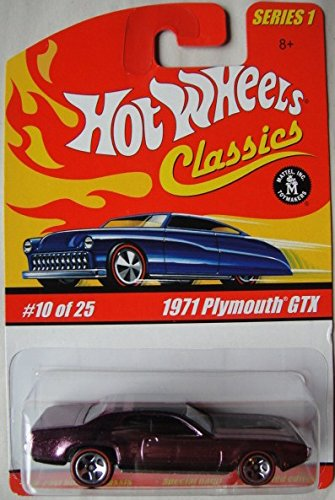 HOT WHEELS CLASSICS SERIES 1 1971 PLYMOUTH GTX 10/25 - 1