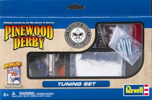 Pine Wood Derby Tuning Set/Speed Kit
