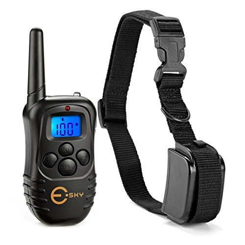 esky-led-backlight-rechargable-330yd-remote-dog-training-shock-collar-beep-vibration-electronic-elec