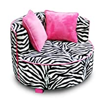 Hot Sale Newco Kids Redondo Chair, Minky Zebra