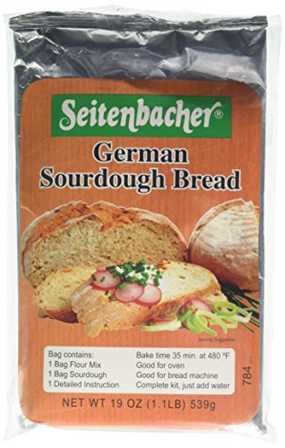 Seitenbacher German Sourdough Bread Mix, 6 Count