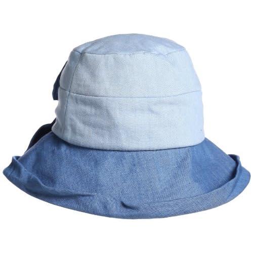 (グレース)grace UVケア BI TONE HAT UH012Z ブルー 033/BL F